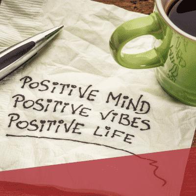 positive Gedanken positives Leben